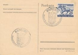 HAMBURG - 1942 , Grosser Deutschlandpreis - Rennpferd - Deutschland