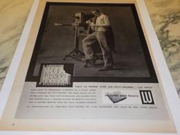 ANCIENNE PUBLICITE BISCUIT PETIT BEURRE  LU 1958 - Affiches