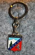 Rare Vintage Porte-clefs Années 50-60 Chamonix - Portachiavi