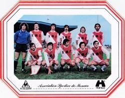 Autocollant Football Championnat France Division 1 Saison 1978/79 - AS Monaco - Le Coq Sportif Hunga - Courbis Ettori - Football