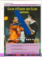 19/1 Fiche Football 25 X 18,5 Cm 2 Pages BARCELONA ESPANA SAMPDORIA GENOA ITALIA STOICHKOV - Fútbol