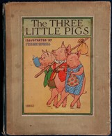 The Three Little PIGS - Illustrated By Frank-Adams - Blackie & Son : Limited . - Enfants