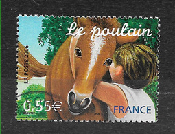 FRANCE 3899 Jeunes Animaux Domestiques Le Poulain . - France