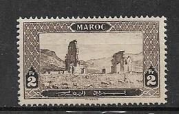 France Colonie N°77 Du Maroc  Neuf Petite Trace De Charnière (cote190€) - Maroc (1891-1956)