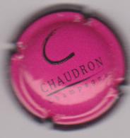 Capsule Champagne CHAUDRON ( Nr ; Rose Foncé Et Noir ) {S51-18} - Champagne
