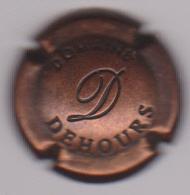 Capsule Champagne DOMAINE DEHOURS ( 28 ; Estampée Vieux Bronze ) {S51-18} - Champagne