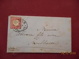 Lettre De 1875 D Allemagne - Germania