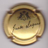 Capsule Champagne LEGRAS Jack ( Nr ; Or Et Noir ) {S51-18} - Champagne