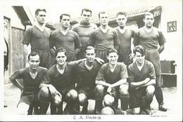 75 CPA RC PARIS Equipe De Football - Francia