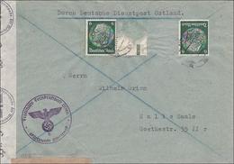 Deutsche Dienstpost Ostland - Fronthilfe Fernkraftpost Osten Stützpunkt Smolensk - Occupation 1938-45