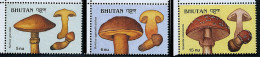 Bhoutan ** N° 859 à 861 - Champignons (lot 20) (19 P19) - Bhoutan