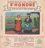 Rare Buvard Biscottes St Honoré La Loire - Zwieback