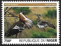 Djibouti 2015 - MNH - Denham's Bustard (Neotis Denhami - Vögel