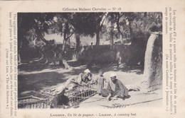 Collection Mulsant Chevalier N°18 - Louxor - Un Lit De Paysan - Luxor - A Country Bed - Liban