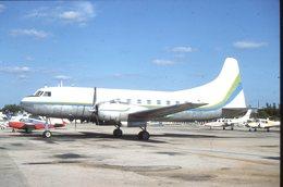 SLIDE / AVION / AIRCRAFT   KODAK  ORIGINAL    CONVAIR 440  N7761 - Diapositives