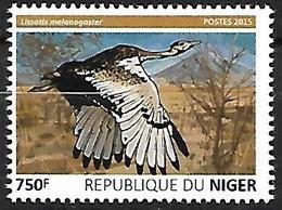 Niger 2015 - MNH - Black-bellied Bustard (Lissotis Melanogaster - Vögel