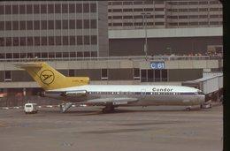 SLIDE / AVION / AIRCRAFT   KODAK  ORIGINAL    CONDOR  B 727   D-ABIL - Diapositives