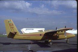 SLIDE / AVION / AIRCRAFT   KODAK  ORIGINAL   YWIN OTTER  5A-DDC - Diapositives