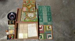 Jeux Ancien - - De L'oie ,chevaux ,de La Puce , Du Nain Jaune - Other Collections