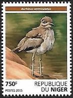 Niger 2015 - MNH - Water Thick-knee (Burhinus Vermiculatus - Vögel