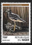 Niger 2015 - MNH - Eurasian Thick-knee (Burhinus Oedicnemus - Vögel