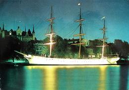 STOCKHOLM Strömmen Segelschiff Vandrarhemmet Af Chapman - Suède