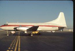 SLIDE / AVION / AIRCRAFT   KODAK  ORIGINAL  CONVAIR 600  N94246 - Diapositives