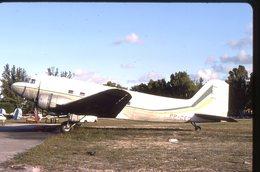 SLIDE / AVION / AIRCRAFT   KODAK  ORIGINAL    DC 3  PP-CED - Diapositives