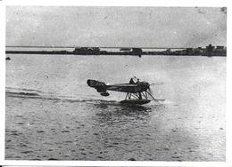 PHOTO PHOTOGRAPHIE AVION AVIATION  HYDRAVION NIEUPORT ESCADRILLE GUERRE SALONIQUE - Aviation