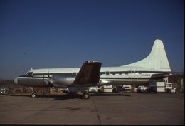 SLIDE / AVION / AIRCRAFT   KODAK  ORIGINAL    CONVAIR 580  N5829 - Diapositives