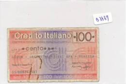 Billet - B3439 - Italie 100 Lire 1976  ( Catégorie,  Nature état ... Se Référer Au Double Scan) - [ 2] 1946-… : Républic