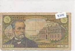 Billet - B3441 - France 5 Francs  Pasteur 1967 ( Catégorie,  Nature état ... Se Référer Au Double Scan) - 1962-1997 ''Francs''