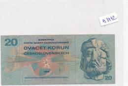 Billet - B3442 - Tchéquie 20 Korun ( Catégorie,  Nature état ... Se Référer Au Double Scan) - Tchécoslovaquie