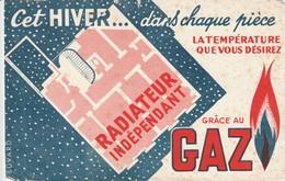 Rare Buvard Le Gaz - Autres