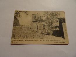 CPA Bethincourt - L'eglise - Guerre 1914-15-16 - France