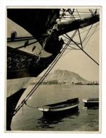 Photo (10.8 X 14 Cm) Port D'Alicante (coque Voilier & Barques, Vue Du Port Au Loin) Foto Sanchez, Alicante - Lieux