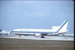 SLIDE / AVION / AIRCRAFT   KODAK  ORIGINAL  EASTERN  TRISTARD  N309EA - Diapositives