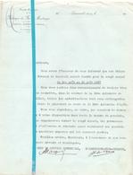 Factuur Facture - Lettre - Fabrique De Fer De Maubeuge à Louvroil - 1937 - Non Classificati