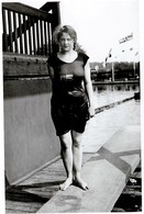 Olympic Games Stockholm 1912 Greta Johansson Winner Of High Jumps Swimming Photo - Giochi Olimpici