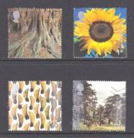 Great Britain 2000 Millenium Projects: Tree & Leaf Set Of 4 Used - 1952-.... (Elizabeth II)