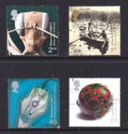 Great Britain 2000 Millenium Projects: Mind & Matter Set Of 4 Used - 1952-.... (Elizabeth II)