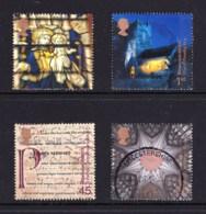 Great Britain 2000 Millenium Projects: Spirit & Faith Set Of 4 Used - 1952-.... (Elizabeth II)