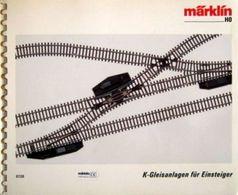 MÄRKLIN Gleisplan Gleispläne Gleisplanheft 1990 H0 K-Gleisanlagen 0720 - Gleise