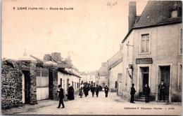44 LIGNE - La Route De Couffé - Ligné