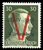 1945, Deutsche Lokalausgabe Saulgau, IX, ** - Deutschland