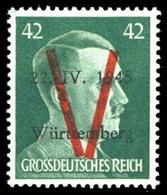 1945, Deutsche Lokalausgabe Saulgau, XI, ** - Deutschland