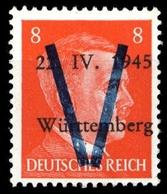 1945, Deutsche Lokalausgabe Saulgau, IV, ** - Deutschland
