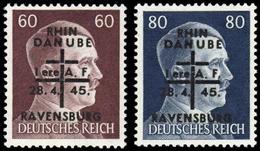 1945, Deutsche Lokalausgabe Saulgau, XVII+XVIII, * - Deutschland