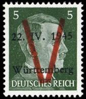 1945, Deutsche Lokalausgabe Saulgau, II, ** - Deutschland