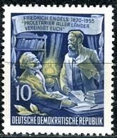 A12-50-6) DDR - Mi 486 A - ** Postfrisch (A) - 10Pf        Friedrich Engels - DDR